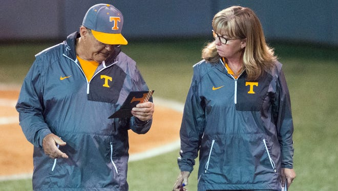 Tennessee co-head coaches Ralph and Karen Weekly took over the softball program in 2002.