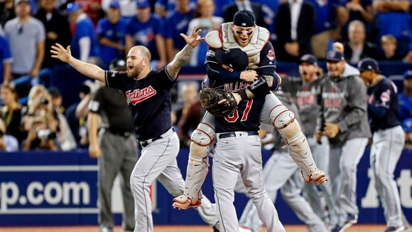 Oct 19, 2016; Toronto, Ontario, CAN; Cleveland Indians