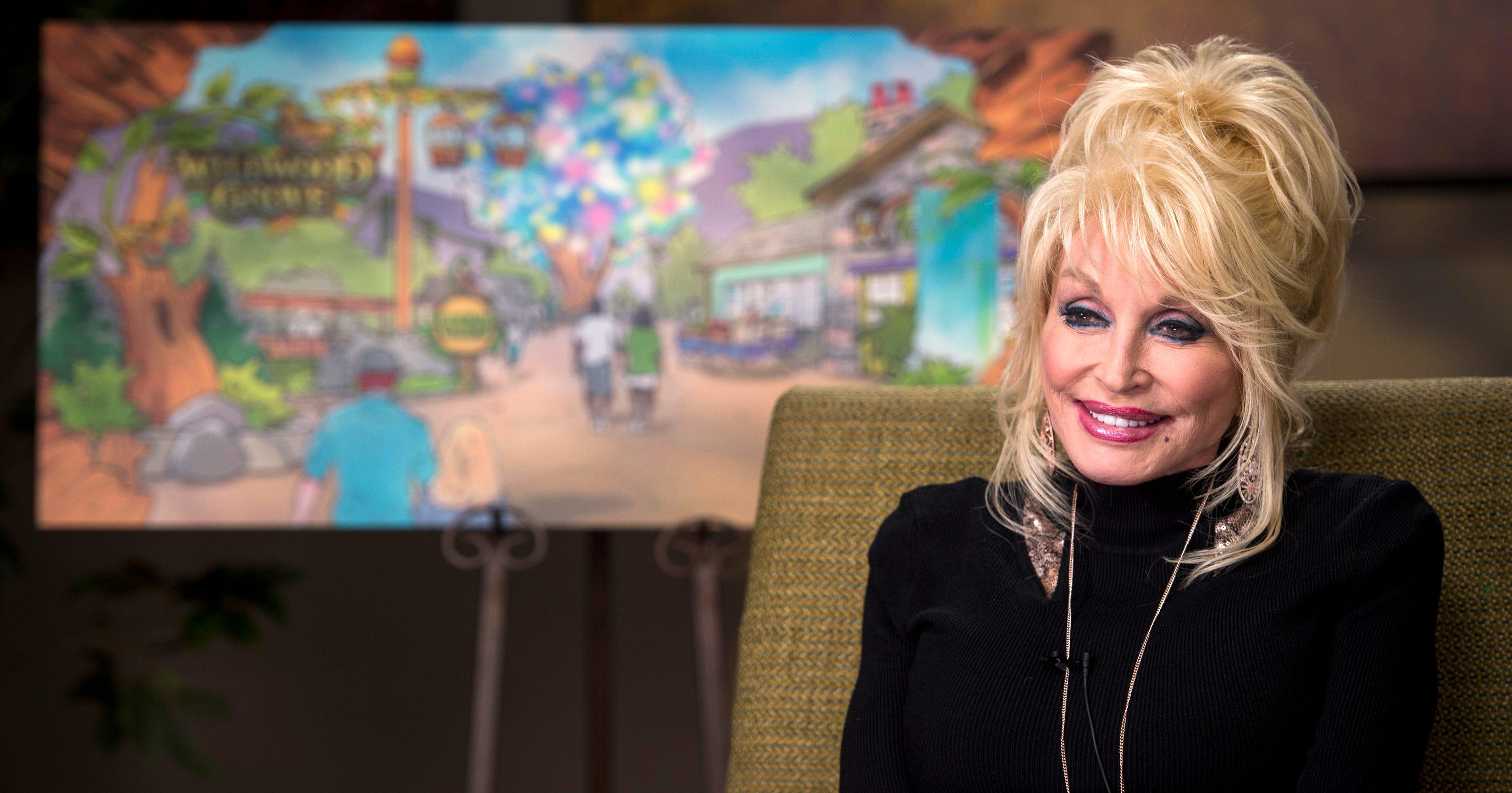 Dolly Parton announces largest Dollywood park expansion