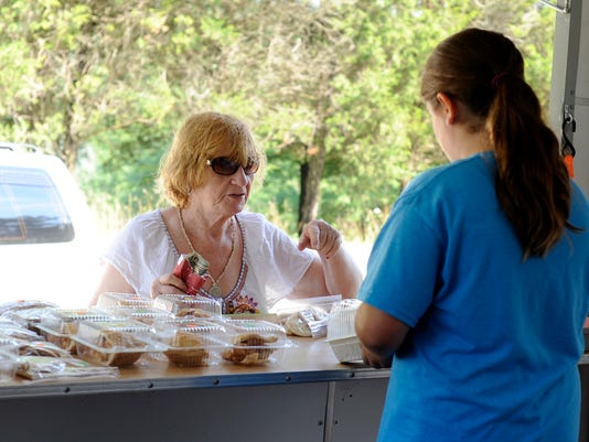 PHOTO: Bailey Flinchbaugh's Four Diamonds Bake Sale