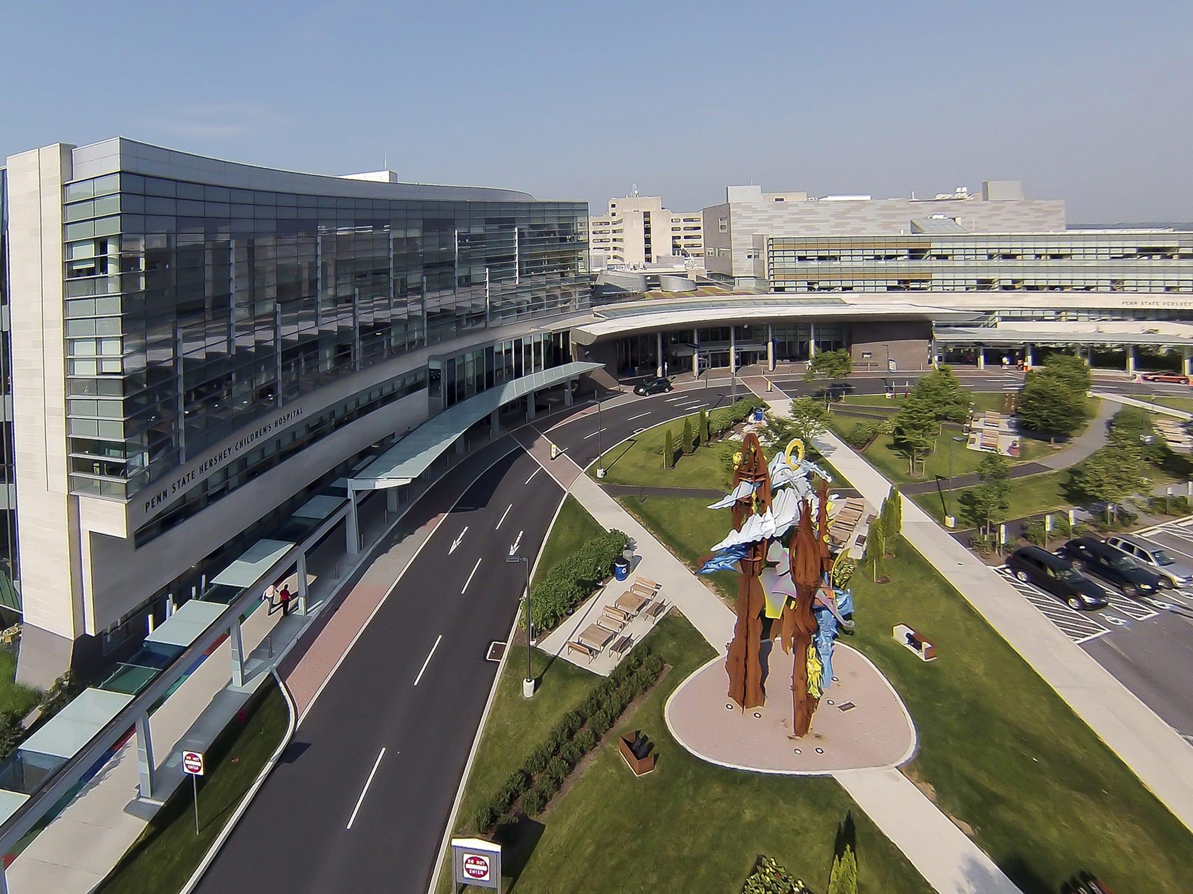 The Penn State Hershey Medical Center.