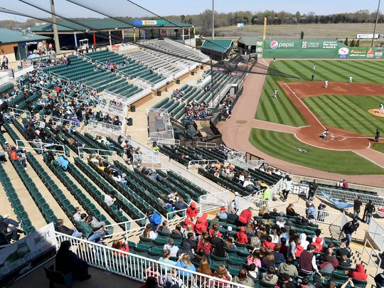 The Ballpark at Jackson was built in 1997 for $8 million, the team moved to the city in 1998.