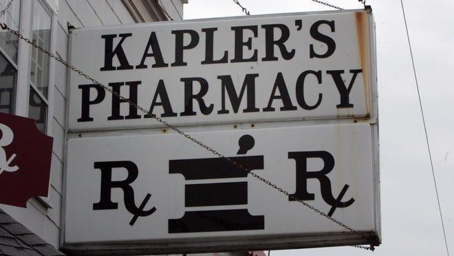 Kapler's Pharmacy, 1 South Bay Ave., Beach Haven