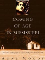 "Anne Moody wrote her memoir about growing up in her home state, ""Coming of Age in Mississippi."""