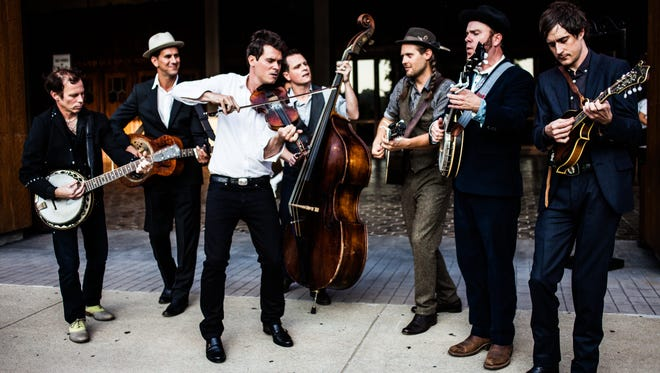 Old Crow Medicine Show is a young group striving to make new music influenced by the old-fashioned.  Andrea Behrends