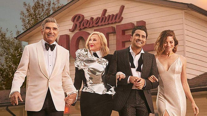 """""""Best Wishes, Warmest Regards: A Schitt's Creek Farewell"""" offers a behind-the-scenes look at the making of the hit Candadian series."""