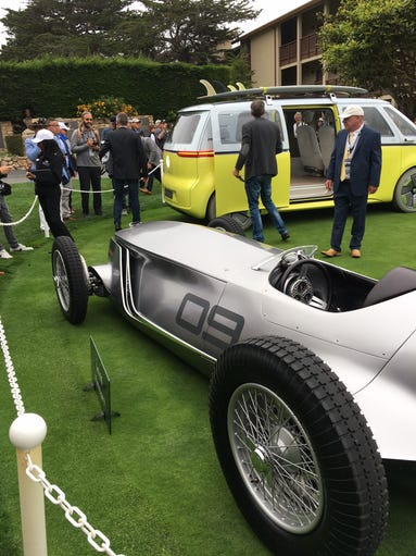The Pebble Beach Concours d'Elegance has become a favored