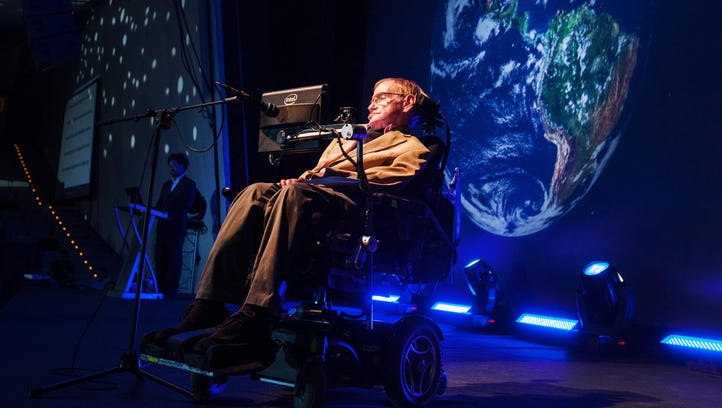 Some people are angry about how the media is covering Stephen Hawking