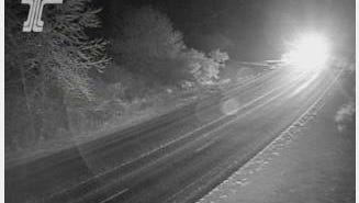 Highway 22 at Santiam Park early Wednesday morning.