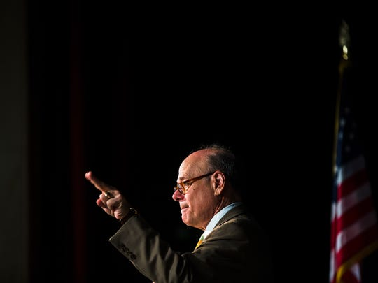 Congressman Steve Cohen answers a question during a