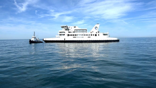 The M/V Twin Capes, a ferry christened 43 years ago, was sunk to become part of Delaware's acclaimed artificial reef system.