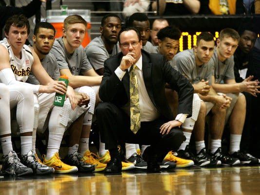 NCAA Basketball: Indiana State at Wichita State