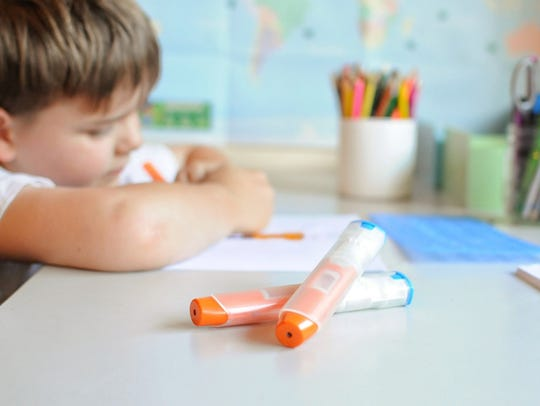 Children old enough to carry their own epinephrine
