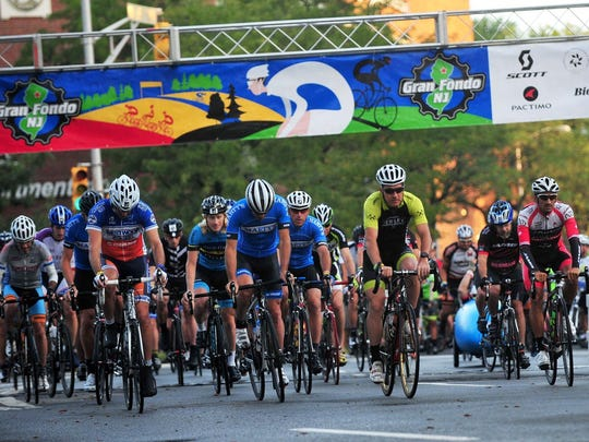 More than 2,000 cyclists will be riding in the Gran Fondo 2018 which leaves from downtown Morristown at 7 a.m. on Sunday.