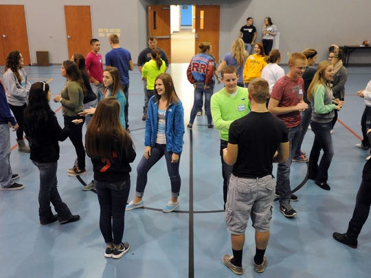 Twenty-six Ridgedale High School students participated Monday in the Actively Caring for People (AC4P) training on developing a positive school climate and eliminating aggression and bullying.