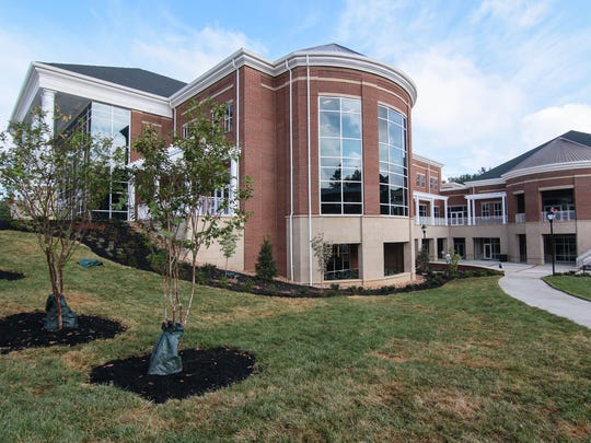 The G. Ross Anderson Jr. Student Center in Anderson, an 86,000-square-foot complex, includes space for dining, a banquet hall, a theater, a gym and a gathering spot for student fellowship and study.