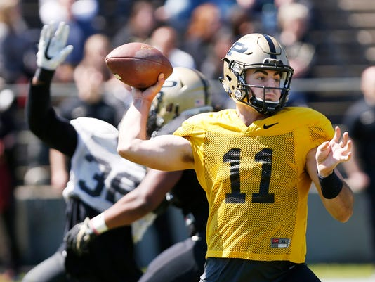 LAF Purdue spring football game