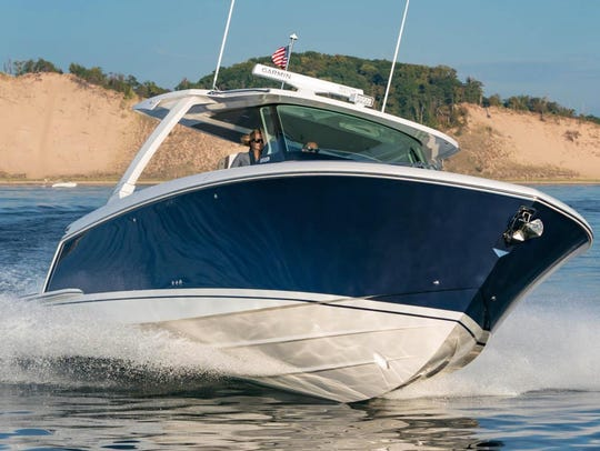 See the Tiara 38LS at the Ocean Blue Yacht Sales on