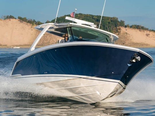 See the Tiara 38LS at the Ocean Blue Yacht Sales on A Dock at the Stuart Boat Show.