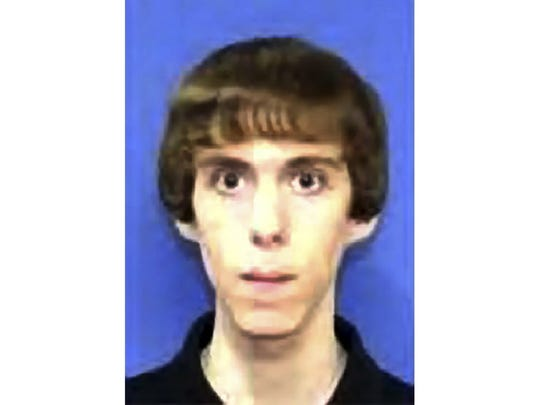 FILE - This undated photo circulated by law enforcement and provided by NBC News, shows Adam Lanza who killed his mother at their home and then opened fire inside the Sandy Hook Elementary School in Newtown, Conn., on Dec. 14, 2012, killing 26 people before killing himself.  On Tuesday, Oct. 24, 2017, more than 1,500 pages of documents were released by the FBI in connection with its investigation of the December 2012 shooting at Sandy Hook Elementary School. The records say there was evidence Lanza began contemplating the attack as early as March 2011. (AP Photo/NBC News, File)