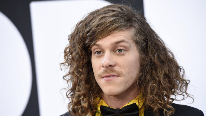 """Blake Anderson, a cast member in """"Dope,"""" poses at the premiere of the film at the Los Angeles Film Festival on Monday, June 8."""