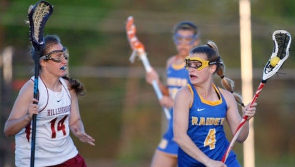 North Brunswick's Tori Tucci (4) recorded her 200th career point on Wednesday.