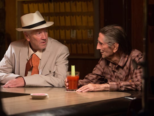 "David Lynch and Harry Dean Stanton in ""Lucky,"" a Magnolia"