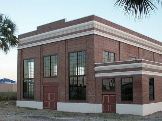 In this undated file image, Vero Beach's diesel-powered electric plant is shown. It was built in 1926. The long-empty building was renovated and occupied in 2017 as American Icon Brewery.