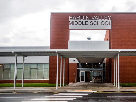A brand-new middle school, Hardin Valley Middle will