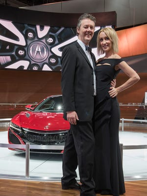 James Bracken and Laura Parsons travel from New York City to see the auto show. They have no ties to the industry, they just like automobiles.