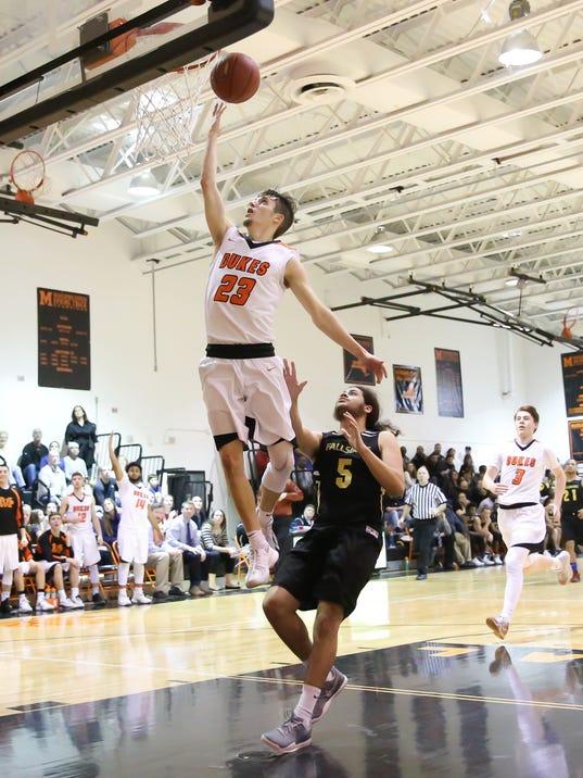 Austin Casey Fallsburg @ Marlboro Boys Basketball