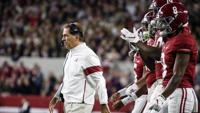 Talk about planning ahead. Coach Nick Saban's Crimson Tide have already secured nonconference game contracts for every year through 2035. Some of the more intriguing matchups are against Texas, Oklahoma, Notre Dame and Wisconsin.