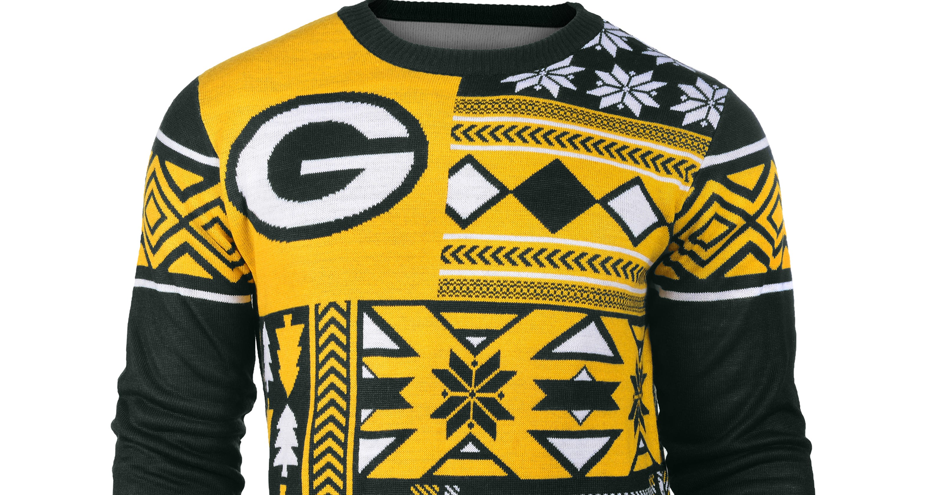 43b14c96712 Now that s an ugly Packers sweater
