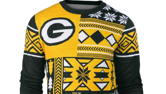 The NFL's Ugly Sweaters collection includes this one for Packers fans.