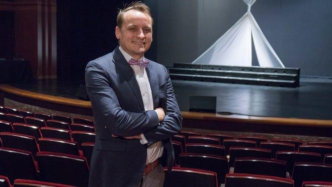 Joe Kvoriak is director at the Village Theater at Cherry Hill.