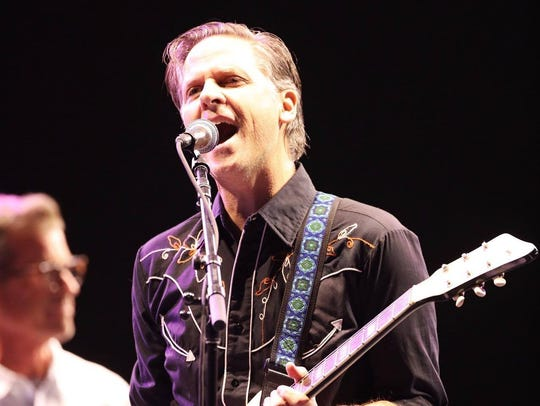 Calexico performs during a Beatles tribute at Lost