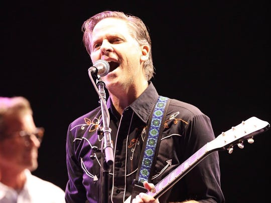 Calexico performs during a Beatles tribute at Lost Lake Festival Day 2 at Steele Indian School Park in Phoenix, Saturday, Oct. 21, 2017.