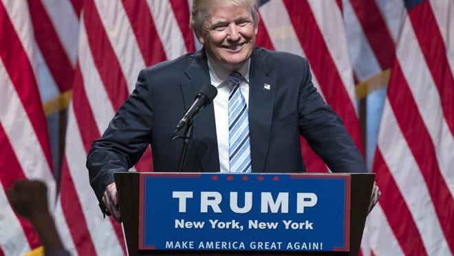 Presumptive GOP nominee Donald Trump
