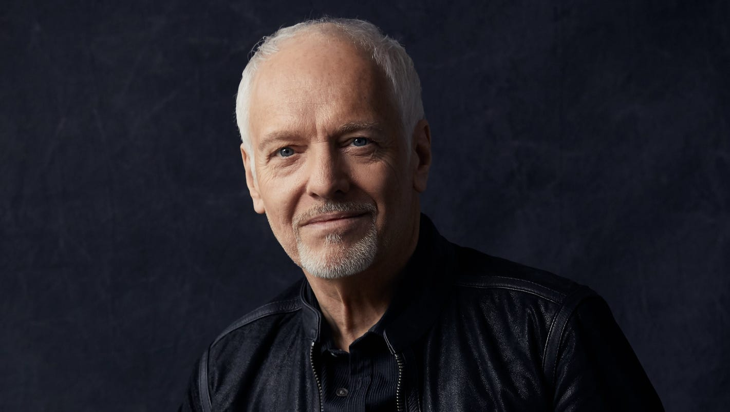 Peter Frampton on going acoustic, believing in America