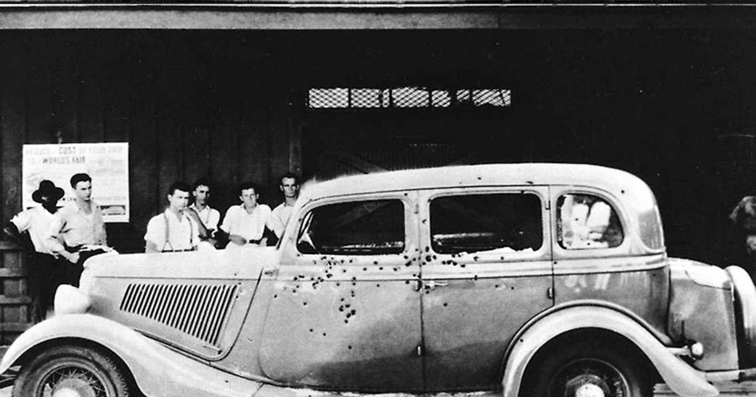 Bonnie And Clyde Car Location: When Bonnie And Clyde's Bullet-riddled Car Came To Town