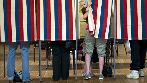 Voters in five states head to the polls Tuesday.