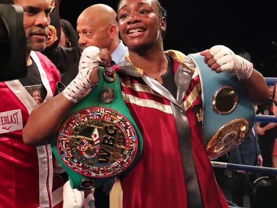 Claressa Shields wins the IBF & Middleweight title