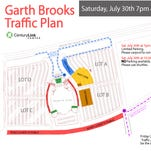 Country music star Garth Brooks will return to the Shreveport-Bossier City area July 30.
