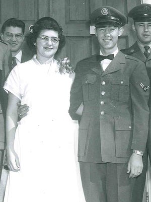 Curvin R. and Patsy A. Harman were married in 1965 at Turner Air Force Base in Georgia.