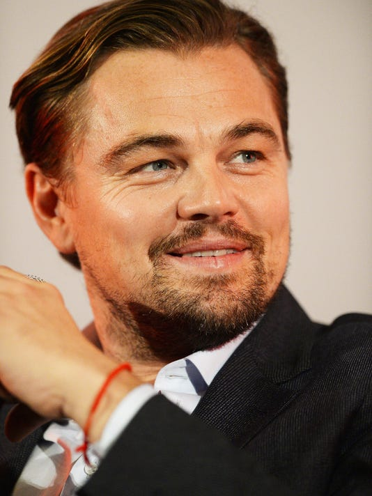 Leonardo DiCaprio attends a Q&A following a BAFTA screening of 'The Revenant'