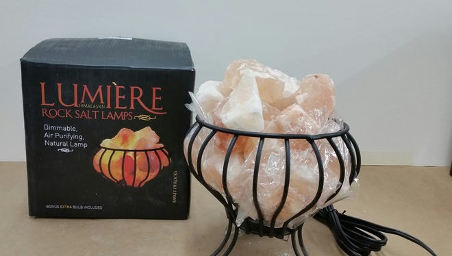 The Basket of Rocks lamp, along with two other Lumiere brand lamps, were recalled after being sold at Michaels last year.