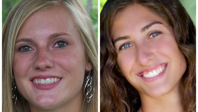 Ithaca's Erica Sheahan and Fowler's Julie Thelen helped their teams to state titles Saturday.