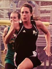 Along with basketball, Jenna Cobb also played tennis growing up and ran track at Miami Trace High School in central Ohio.