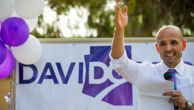 Arizona superintendent candidate David Garcia is brimming with self-confidence and good ideas.