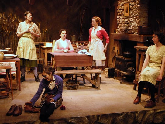 """The Schoolhouse Theater in Croton Falls staged """"Dancing"""